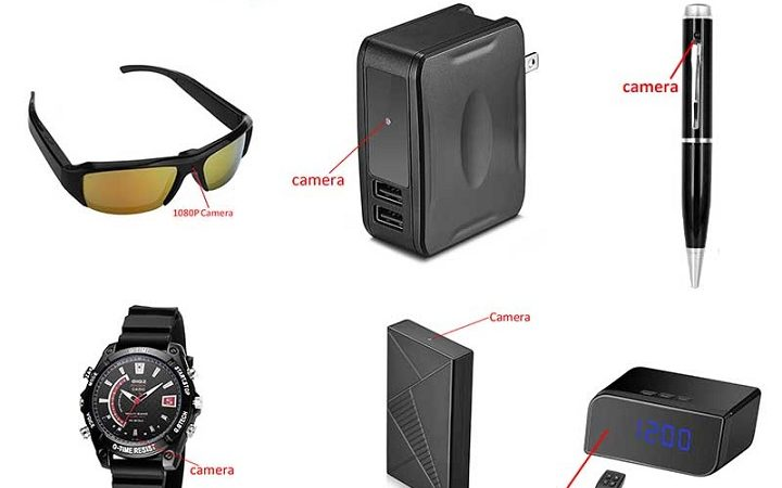 What are the Different Types of Hidden Cameras